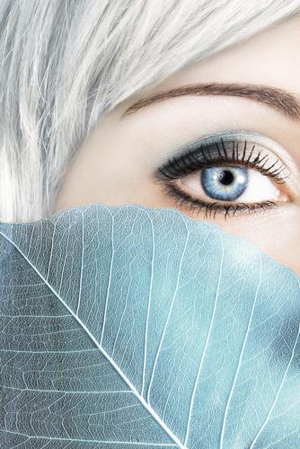 Women - Smaller Eyes After Facelift - Model