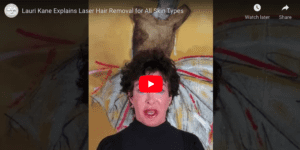 lauri explains laser hair removal