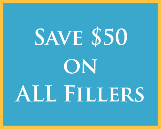 $50 off fillers